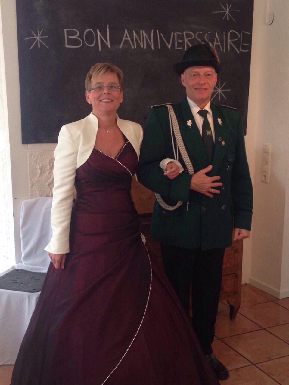 koenig2014Gerd Hermanns und Gattin Roswitha
